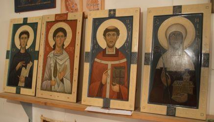 Celtic saints by Olga Shalamova