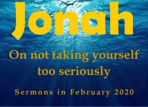 Image for Jonah sermons - links to web page
