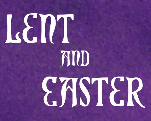 Image Lent and Easter services - links to web page