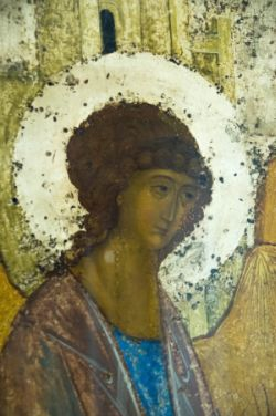 Detail of Rublev's 'Trinity'